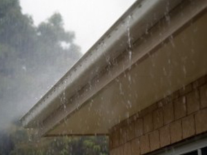 gutters not draining