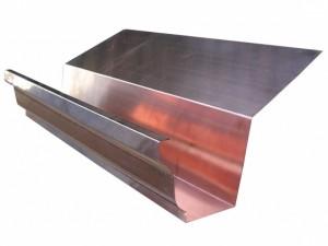 Copper K-Style Highback Gutter
